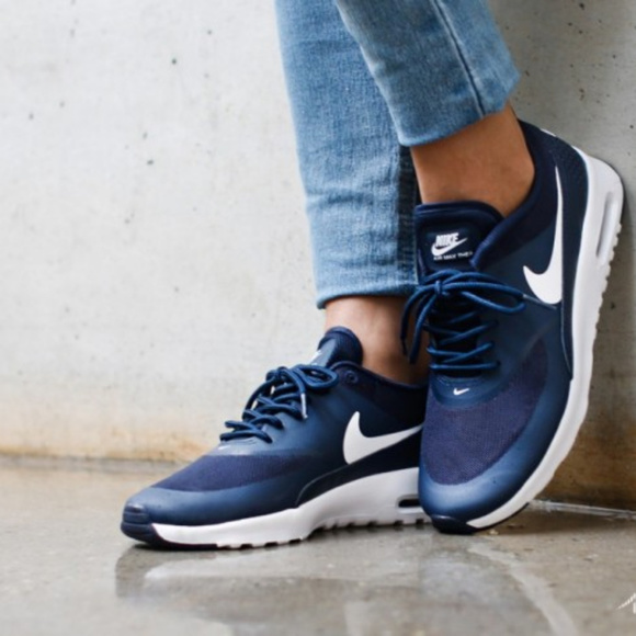 best loved f5fe8 5bec5 Nike Air Max Thea Navy Blue Size 9. M 5a3867a431a376345f00429b